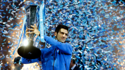 Tennis: Djokovic re del 2015! Suo anche l' Atp World Tour Finals