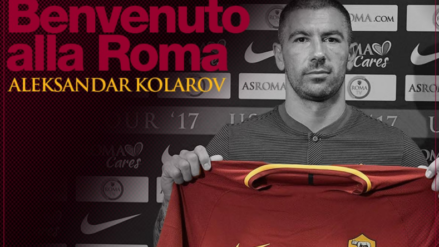 "Rome: Official Kolarov, contract 2,5 million per season. ""I will give more than 100%"""